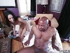 Petite Latina decimated by black cock. Tia Cyrus